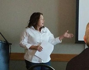 Speaking to the Rapid City Chamber Ag & Natural Resource Committee