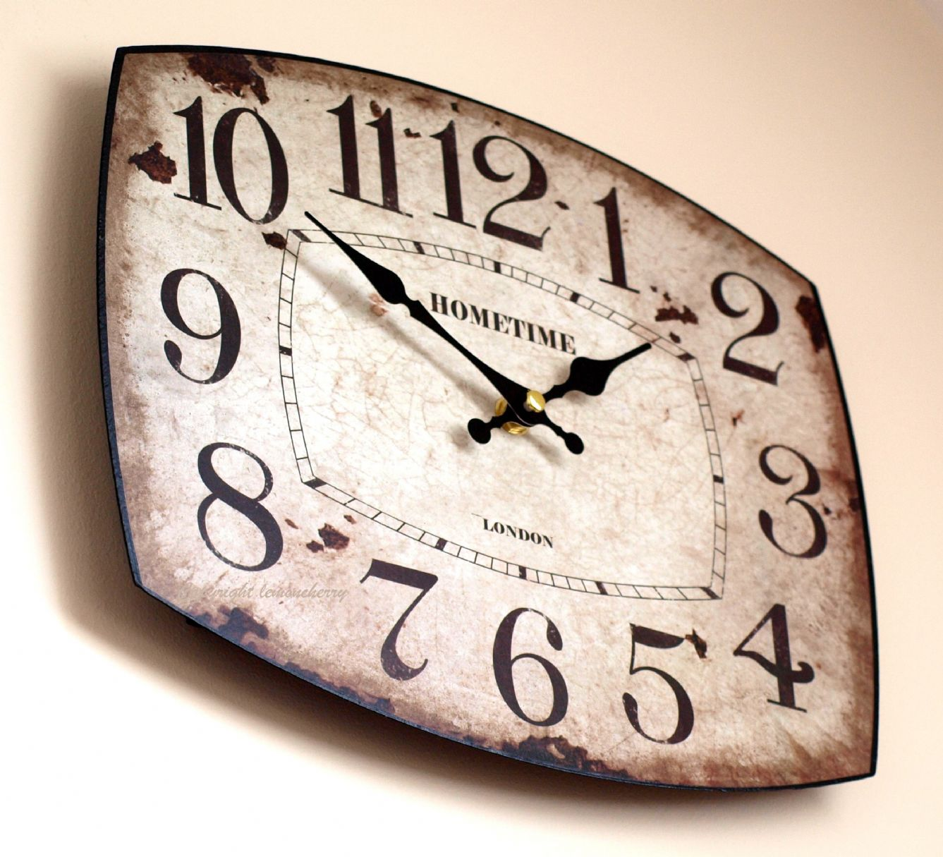 To me the greatest pleasure of writing is not what it 39 s - Small kitchen clock for wall ...