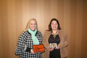 Amy Pravecek, Agribusiness Person of the Year and Codi Mills, Media Award.